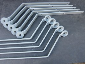 Rear Wingstay Brackets - F2, J2, J3, J4, L2, P Type
